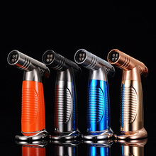 2018 New JL-084V China wholesale Jet Gas Single Flame Butane Torch Lighter