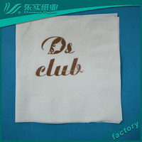 Chinese Bamboo Tissue Supplier,275*275 mm Cheap Custom Printed and Embossed Dinner Paper Napkins, Tissue Paper