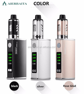 2018 Hottest E cig Box Mod 80w healthy E cigarette Electronic 510 Vape Mod Popular Electronic Cigarette chinese supplier