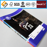 high quality strong men softcover school exercise books