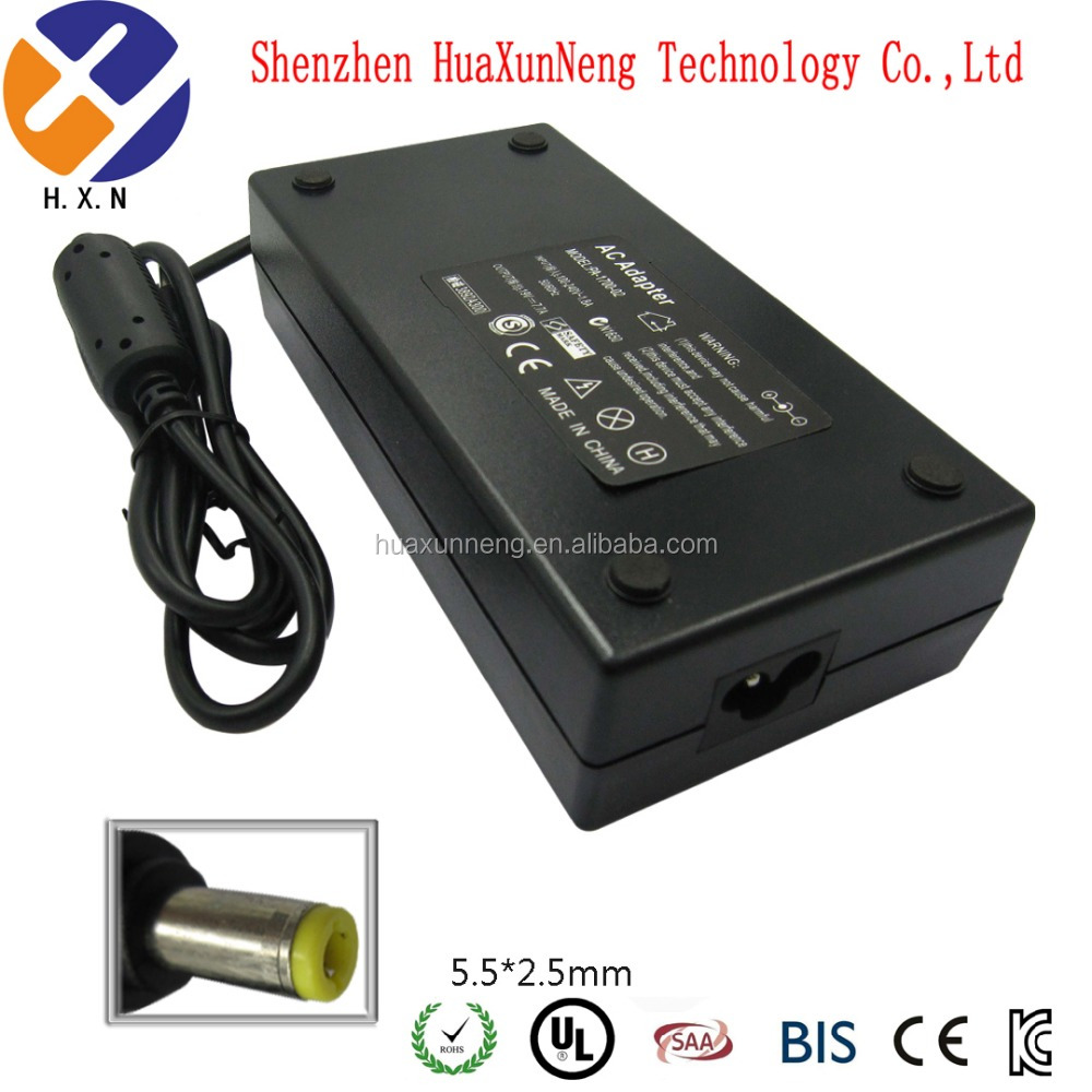 Laptop ac power adapter 19v 7.9a 5.5x2.5mm 150w for Toshiba power supply adapter