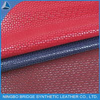 1403004-5034-12 New Design Hot Product Shoes Leather Embossing Flocking PU Material