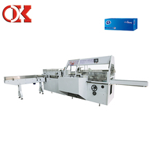 High Automation Facial Tissue Cartoning Machine A Coudre
