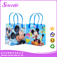 laminated printing pp woven shopping bag packing bag for students