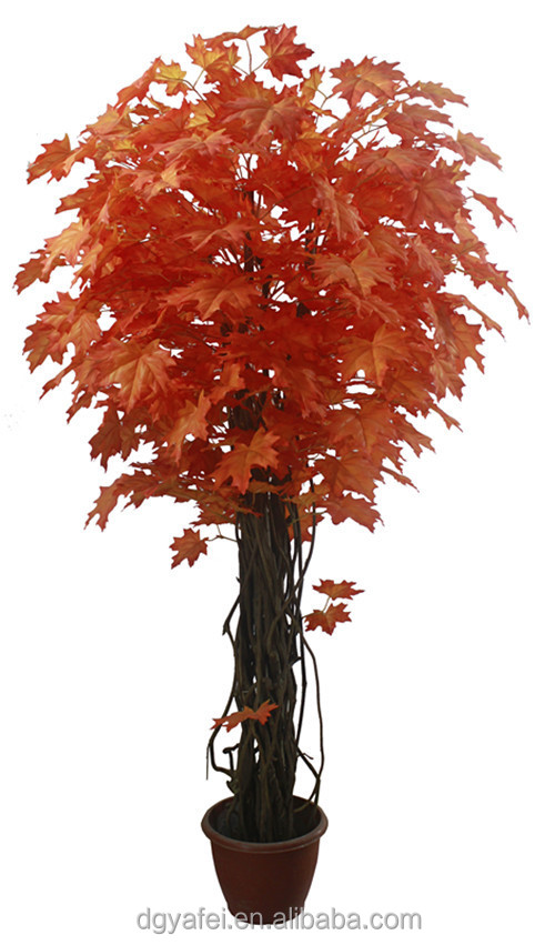 New d coratif r aliste artificielle mini bonsa arbres for Arbre decoratif exterieur