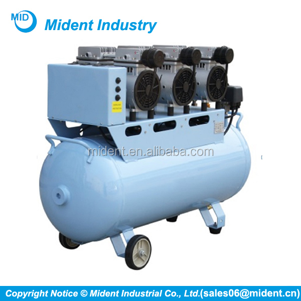 Quiet Dental Air Compressor Price, Oil Free Air Compressor Pump