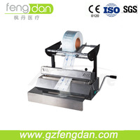 CE Dental Material Cup Filling and Sealing Machine with Adjustable Sealing Temperature