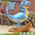 Amusement Park Cute Decoration Fiberglass Dinosaur Statue