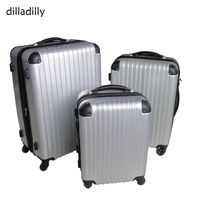 Dilly Customized Designer Abs Travel Luggage