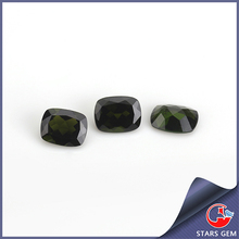 market demand rectangle cut green natural stones diopside prices