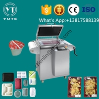 high efficiency and low price MAP Tray Sealing Machine vacuum packing machine for dates, rice, nuts,meat etc