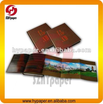 Promotion hardcover book printing on line factory