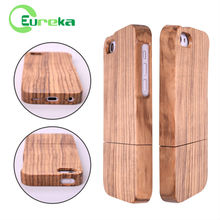 Factory price mobile phone wood case cover for iphone 5C