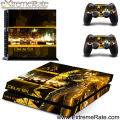 Pretty Looking Design Skin Cover and Easily Paste Vinyl Wrap for PS4 GYTM0490