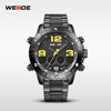 WEIDE New arrival casual Business wristwatch 3 atm Water Resistant Japan Quartz Movement Wrist Watch Gift