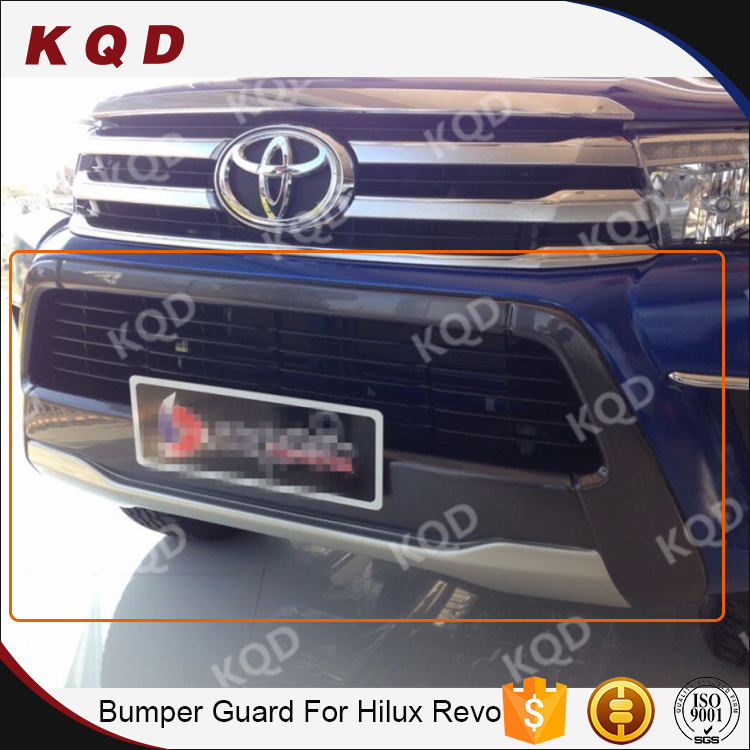 ABS bull bars and bumpers toyota hilux revo 2016 toyota hilux body kits front bumper guard new hilux accessories bull guard