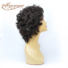 Top Quality virgin peruvian hair short lace front wigs for black women