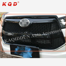 Chrome abs plastic front grill for toyota innova