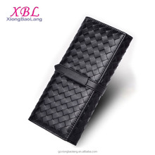 XBL Hot Designer Handmade Woven sheepskin long wallet Women Manufacturer In China