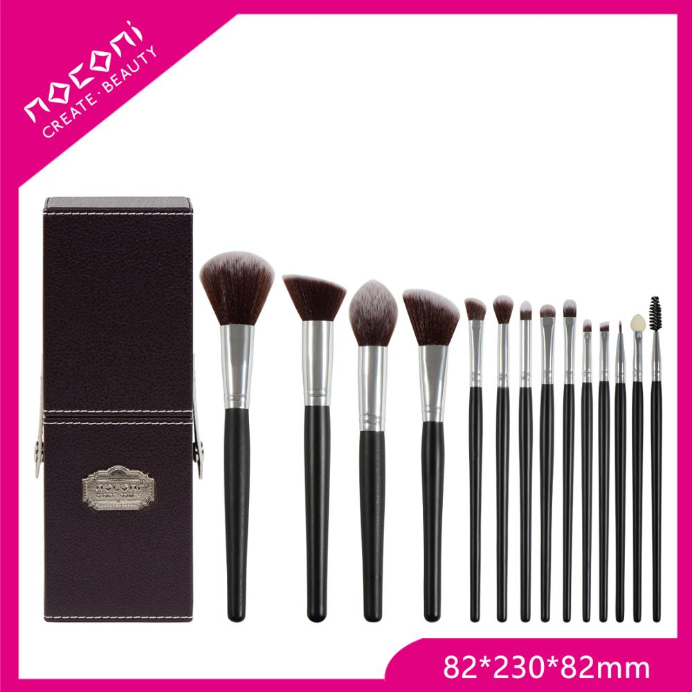China manufacturer beauty makeup brushes with cup holder black makeup holder with makeup brushes
