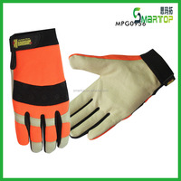 New products china cheap custom colored cabretta leather golf gloves