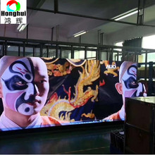 Indoor P3.91 stage background advertising rental LED display screen