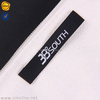 clothing brand labels/garment woven labels iron/sew/velcro on garment/jeans/t-shirt/suit