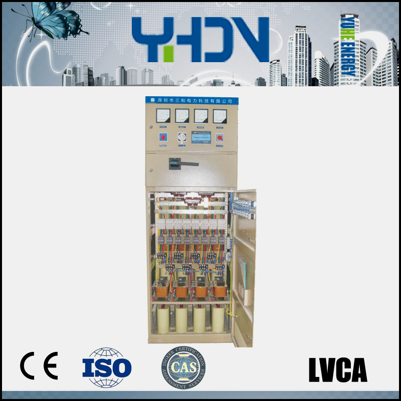 LVCA Low Voltage contacting point SVC static reactive power compensator