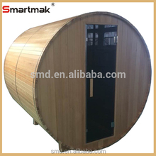Hot selling outdoor sauna steam room,outdoor sauna rooms,outdoor wooden sauna barrel