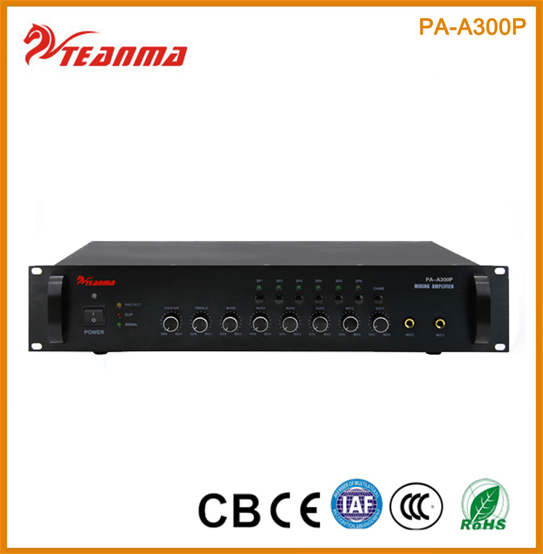 6CH 130W stereo power amplifier
