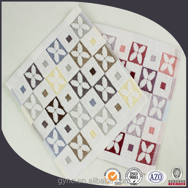 China hot sale cheap personalized yarn dyed 100% cotton jacquard gauze towel for Japan