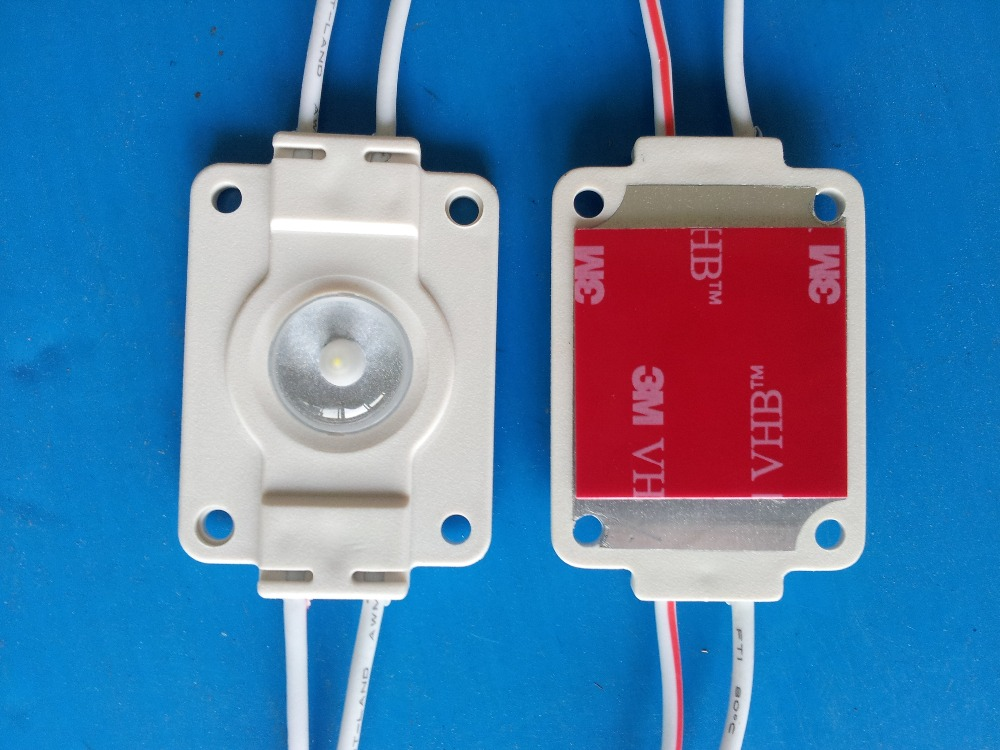 SMD 3535 LED module with lens in viewing angle 160 deg 5 years warranty