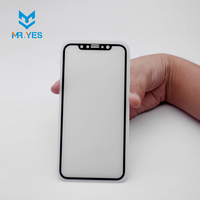 professional Manufacturer High transparent frosted tempered glass screen protector for sale for iphone x cell phone
