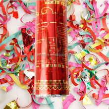 Hot selling factory confetti party popper in different size