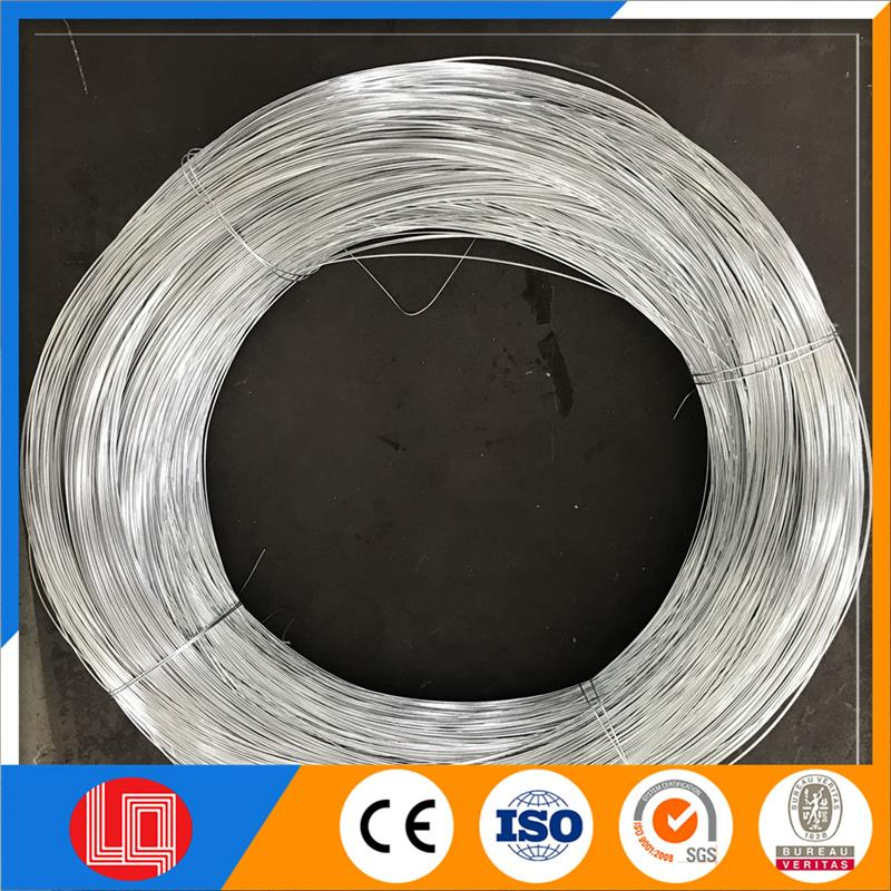 Plastic zinc coated galvanized steel wire with CE certificate