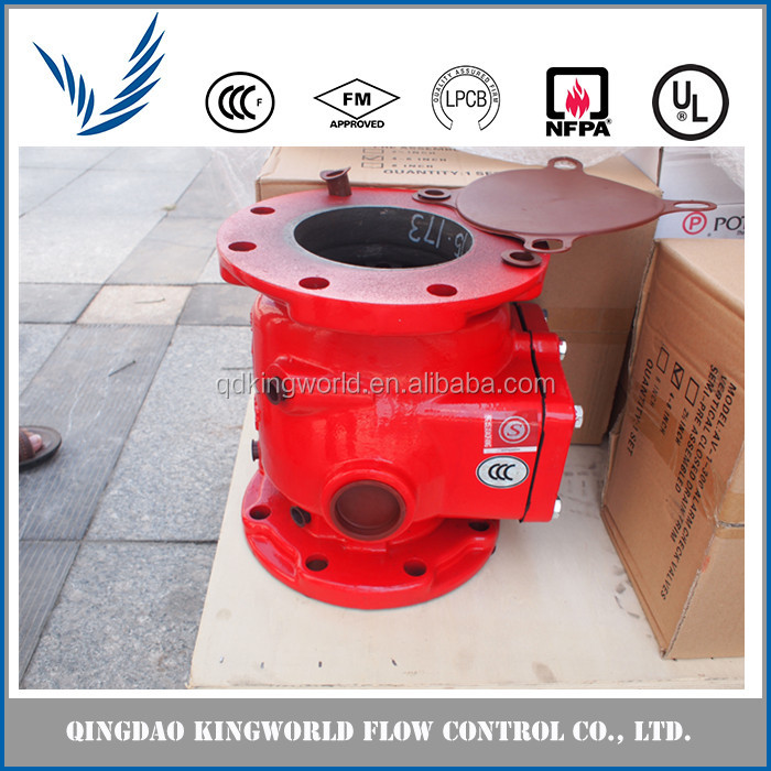 Fire Fighting Deluge Wet Fire Water Alarm Valve