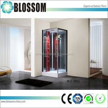 China corner aqualine hydromassage quadrant shower cabin