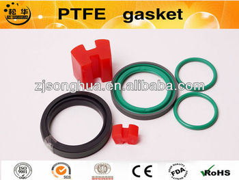 PTFE gasket with different colors