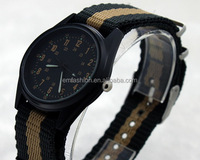 Promotional New Products Sport Nylon Strap Band Quartz Watch