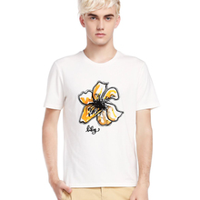 Custom flower printed dubai wholesale t-shirt importers