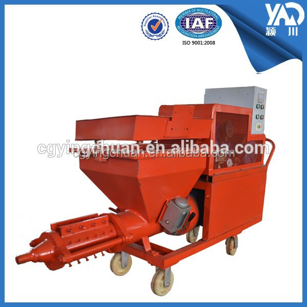 With High Quality And Efficiency Screw Pump Wet Ready Mix Cement Plastering Machine /Mortar Sprayer Wholesale Price For Hotsale