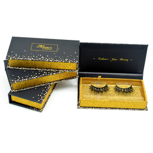 Private label luxury false eyelash packaging 100% cruelty free cotton band real 3D mink strip eyelashes