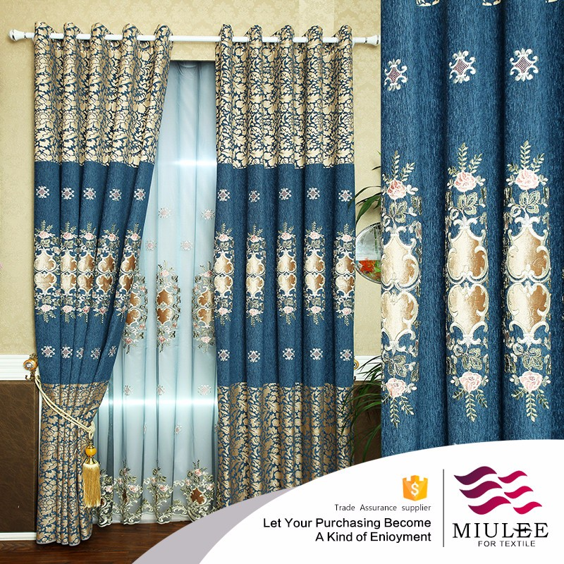 wholesale european style high quality curtain for eco solvent in woven fabric