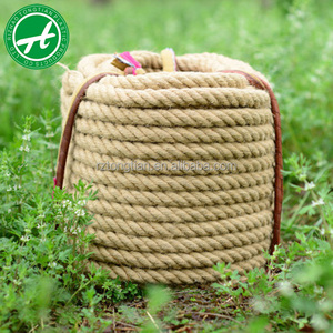 3-strand 4 strand twisted natural jute rope for agriculture, packing, marine