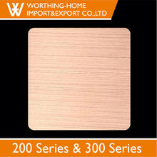 4x8 color coated hairline stainless steel 2MM copper clad laminate sheet for metal wall covers