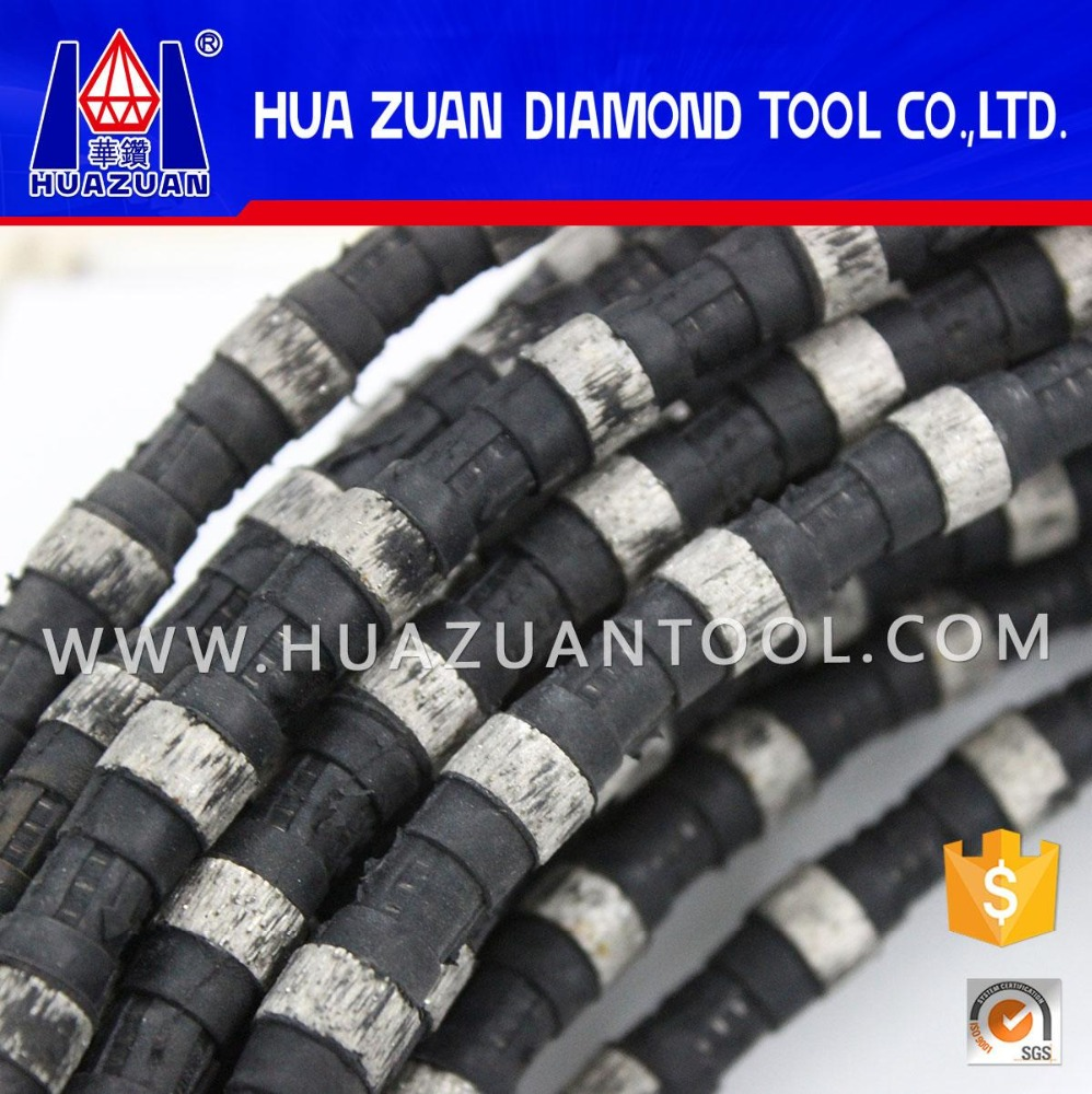 Abrasive Spring + Rubber Coated Diamond Wire Concrete Cutting Rope Saw Building Construction Tools and Equipment