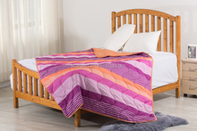 100% Cotton King Size Multi Color Printed Quilt/Bed Set