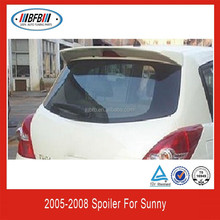 Fit For Nissan Tiida rear abs spoiler-OEM style 2005+