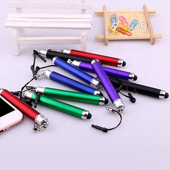 Wholesale hot selling novelty design nimi touch stylus ball pen with custom logo for promotional gift