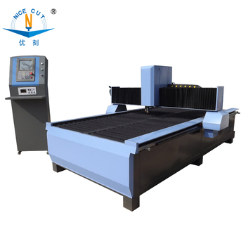 NICE-CUT CNC PLASMA CUTTING MACHINE CHINA PLASMA CUTTER FOR STAINLESS CUTTING CARBON STEEL CUTTING WITH 60A/100A